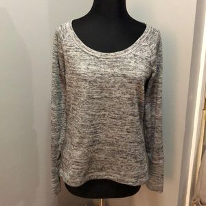 Athleta No Sweating it Sharkbite Top Pullover